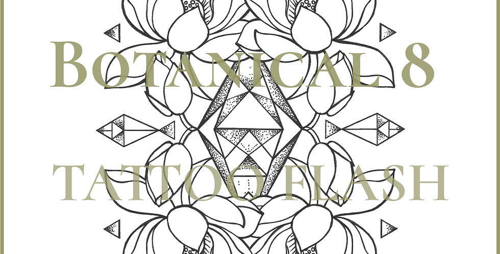 BOTANICAL 8 | Triangle Lotus