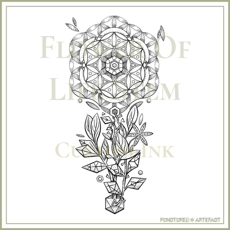Flower Of Life Stem