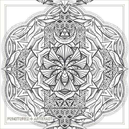 | Large Tattoo Design | Torso | 2018 | Chakra Totem | Geometric Mandala |