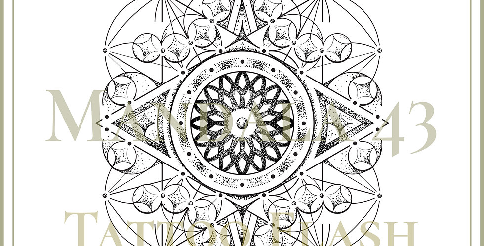 MANDALA 43 | Flower Eye
