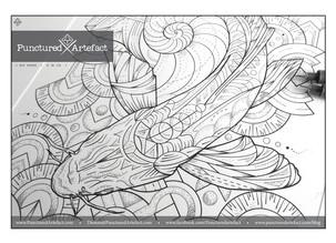 CUSTOM INK | Koi Waves