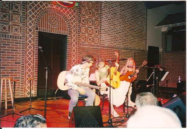 avec Jean-Félix LALANNE et Muriel ANDERSON à Nashville USA