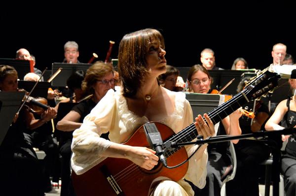 2011 - Concerto d'Aranjuez au Théâtre Silvain à Marseille avec l'OPP
