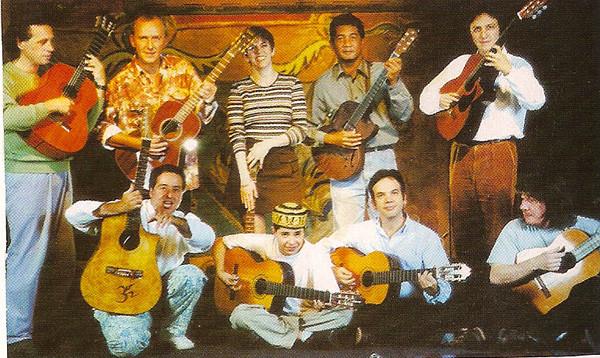 2000 - l'Olympia, l'équipe d'Autour de la Guitare