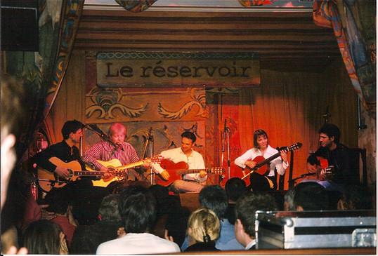 Le Réservoir avec Jean-Félix LALANNE; Patrick VERBEKE et Guitares Plurielles