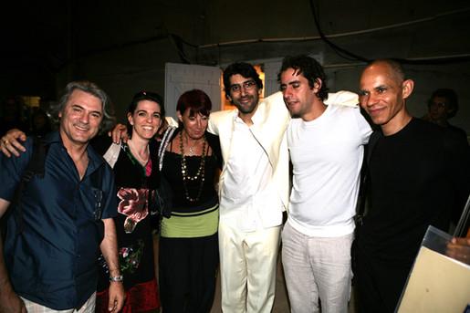 Festival de Sète avec Keyvan et Bijan CHEMIRANI, Ira COLEMAN