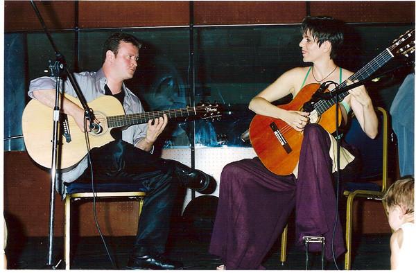 Premier concert en duo avec Sylvain LUC
