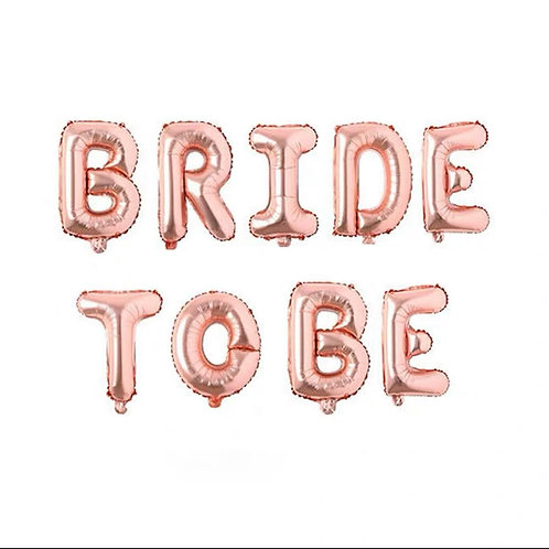 Bride To Be氣球