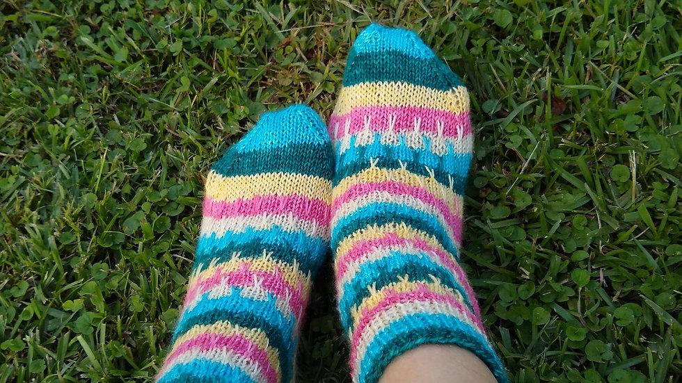 Rainstorm Socks