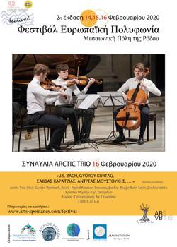 16-02-2020 CONCERT ARCTIC TRIO