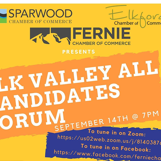 Elk Valley All Candidates Forum