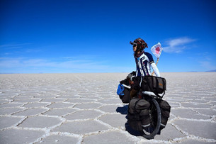 POINT6 Peopleを巡る旅⑥ 地球一蹴、ちゃりんこ世界一周編