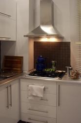 Mutfak modern olarak tasarlandı..