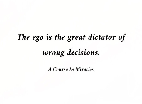 The EGO a.k.a Edging God Out