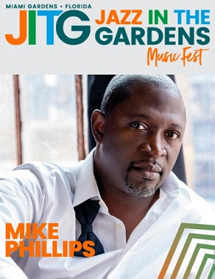 Mike Phillips @ Jazz in the Gardens Music Fest