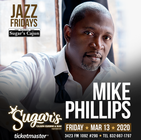 Mike Phillips @ Sugar's