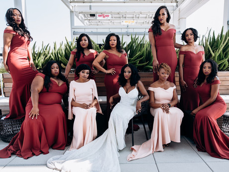 Top 5 Bridal Party Poses | Photography Tips