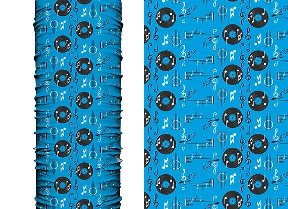 Microfibra Pentagrama Azul