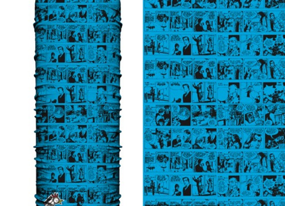 Microfibra Comic Azul