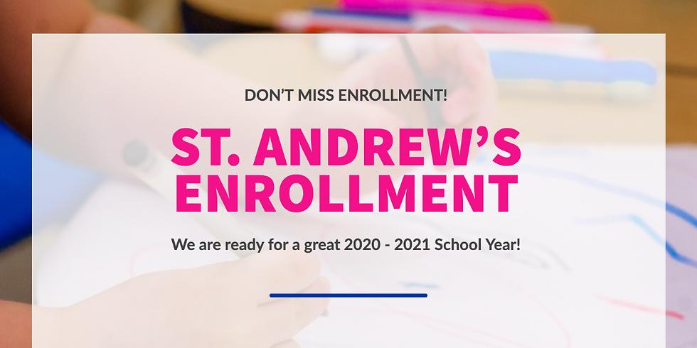 St. Andrew's Enrollment