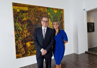 Don Ignacio Cortés y Elaine Shehab