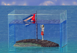 Acuarium (Corto de animación en 3D), 2013.