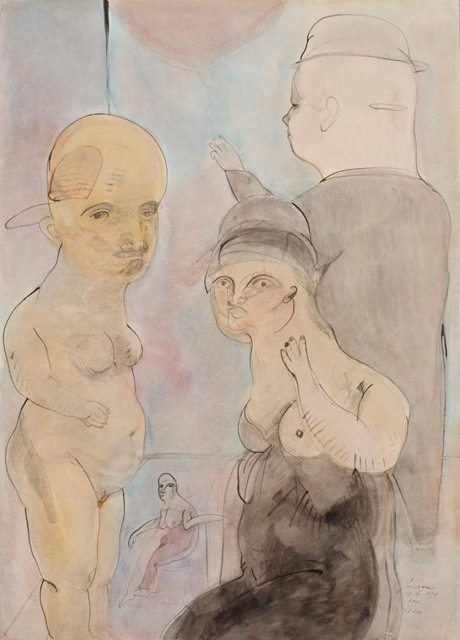 El ciego, 1978.