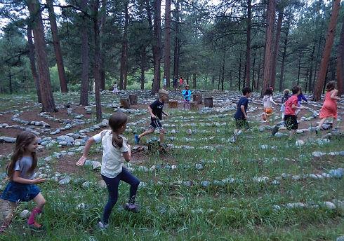 Bemis exploring the Labyrinth.jpg