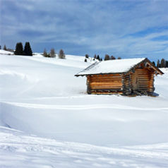 rifugio, baita neve snow dolomiti dolomitiskitour skitour snow safari food