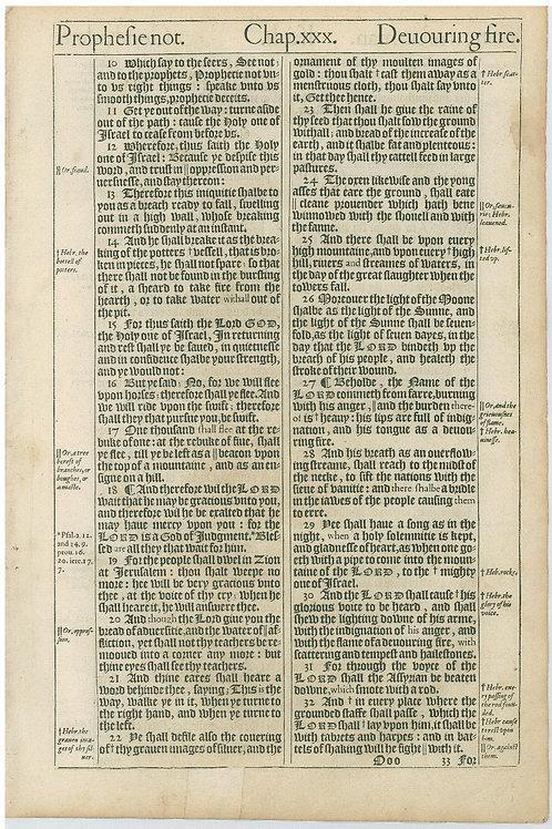 Isaiah 30:10-30:32 - 30:33-32:13a