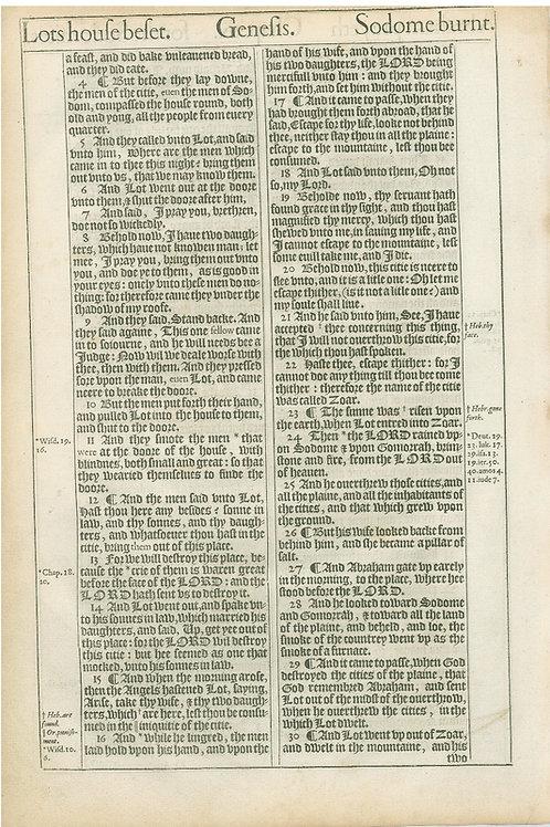 Genesis 18:13-19:3a - 19:3b-19:30a