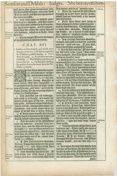 Judges 14:18-15:18a - 15:18b-16:18a