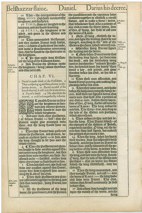 Daniel 5:6b-5:25 - 5:26-6:17a