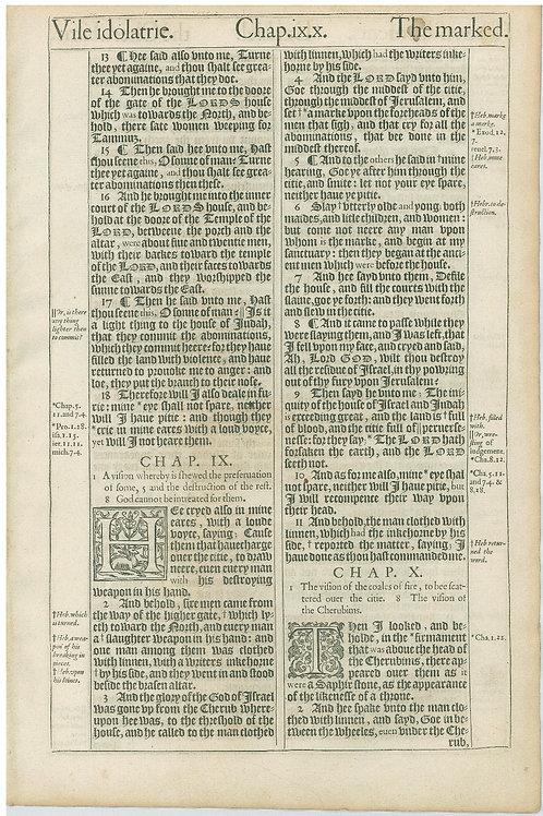 Ezekiel 8:13-10:2a - 10:2b-11:3a