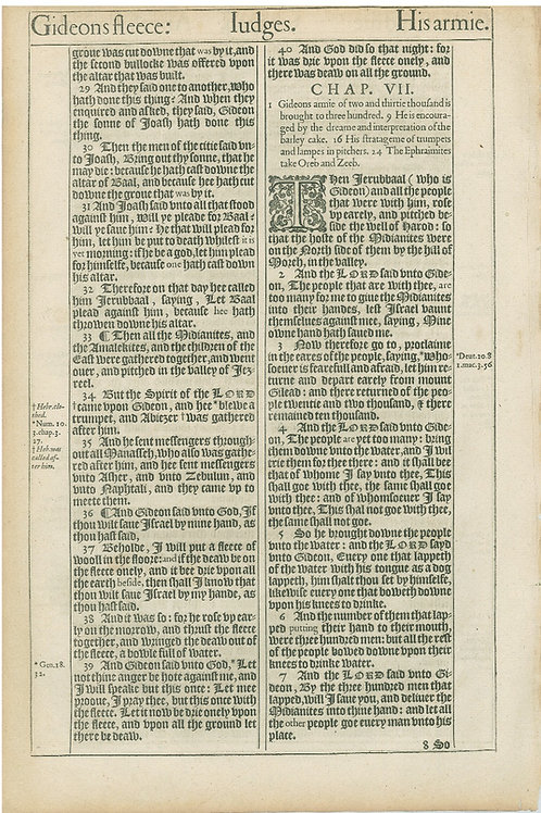 Judges 6:5b-6:28a - 6:28b-7:7