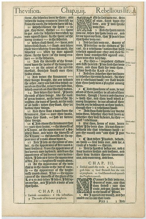 Ezekiel 1:19b-3:2 - 3:3-3:27