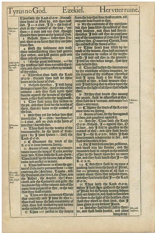 Ezekiel 28:26b-29:20 - 29:21-30:25a