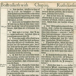 Rare Bible Page 1611 First Edition First printin King James proof