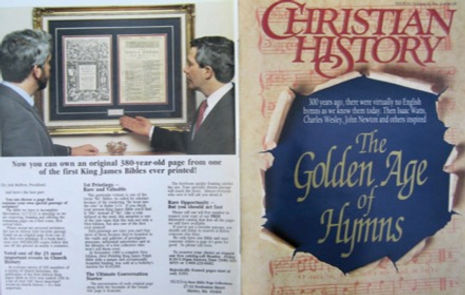Christian History Magazine Advertisement