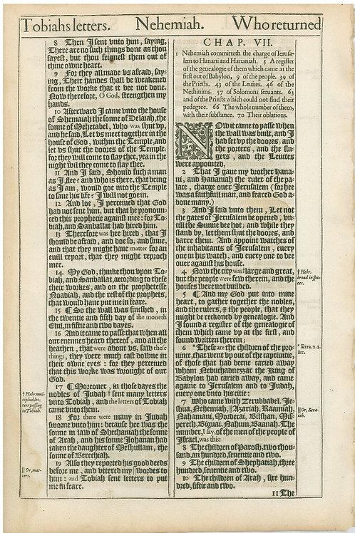 Nehemiah 5:7b-6:7 - 6:8-7:10