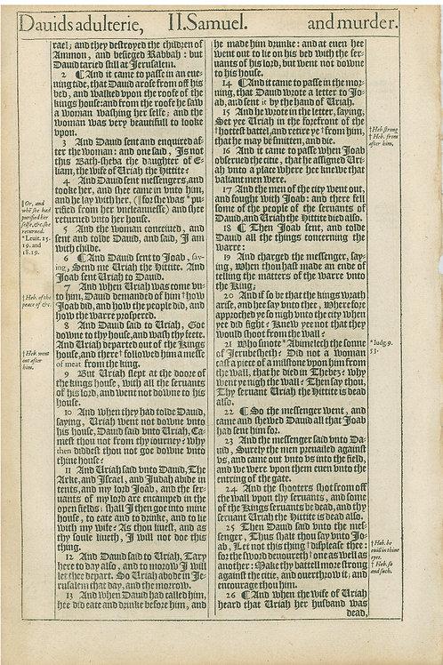 2 Samuel 10:1b-11:1a - 11:1b-11:26a