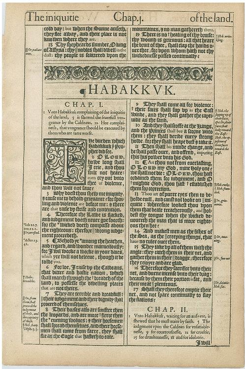 Habakkuk 1:1-2:1a - 2:1b-3:7
