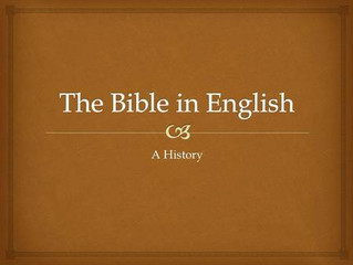 Where Was The English Bible Before 1611?