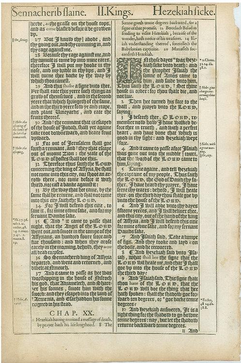 2 Kings 19:4-19:26a - 19:26b-20:10