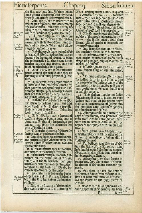 Numbers 21:2b-21:29a - 21:29b-22:18