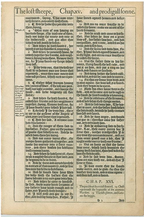 Luke 15:2b-16:1a - 16:1b-16:28