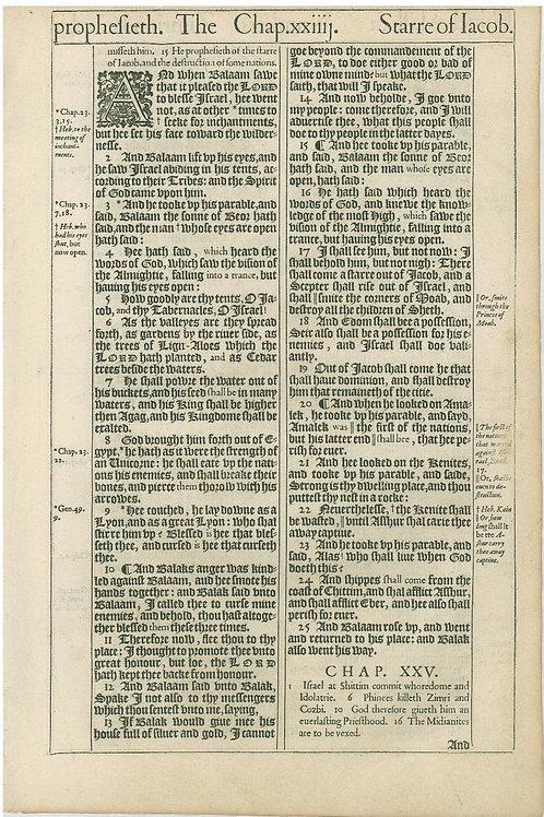Numbers 24:1b-25:1a - 25:1b-26:8
