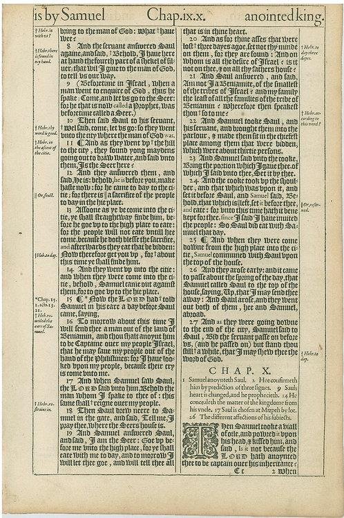 1 Samuel 9:7b-10:1 - 10:2-10:25a