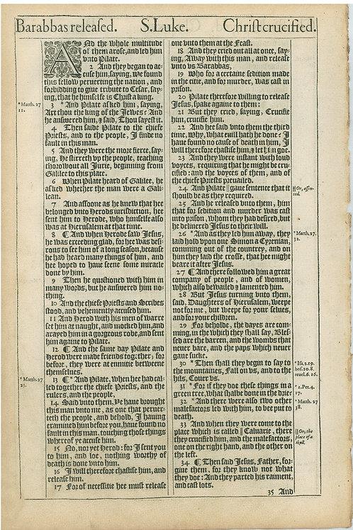 Luke 22:39b-23:1a - 23:1b-23:34