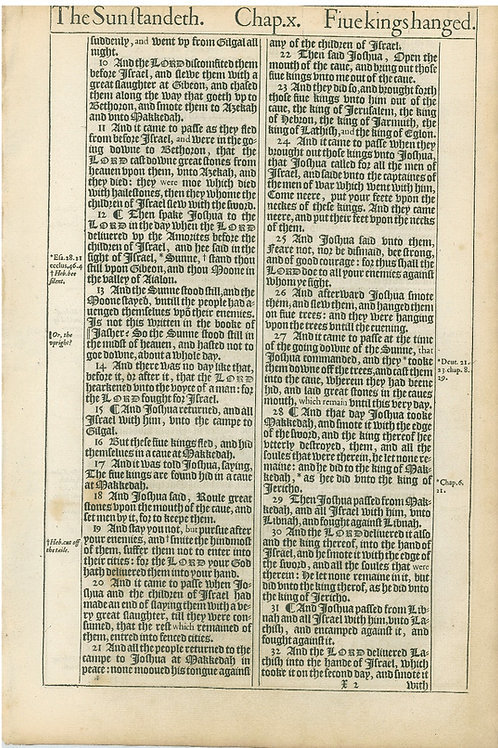 Joshua 10:9b-10:32a - 10:32b-11:11